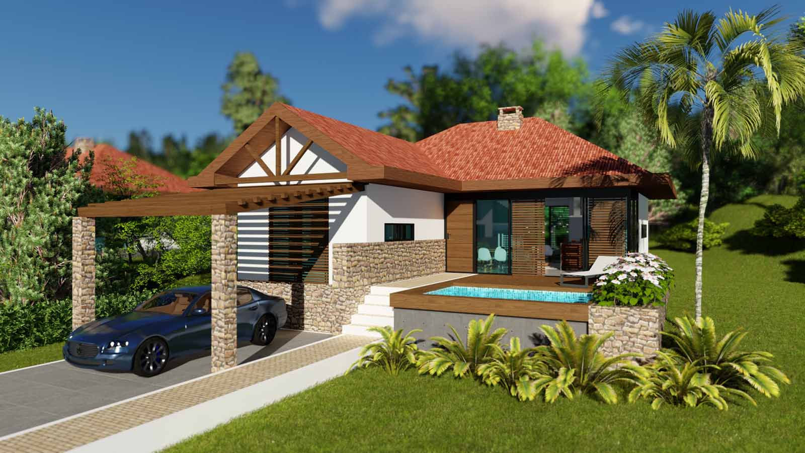Villa Mountain Blue Tipo 1