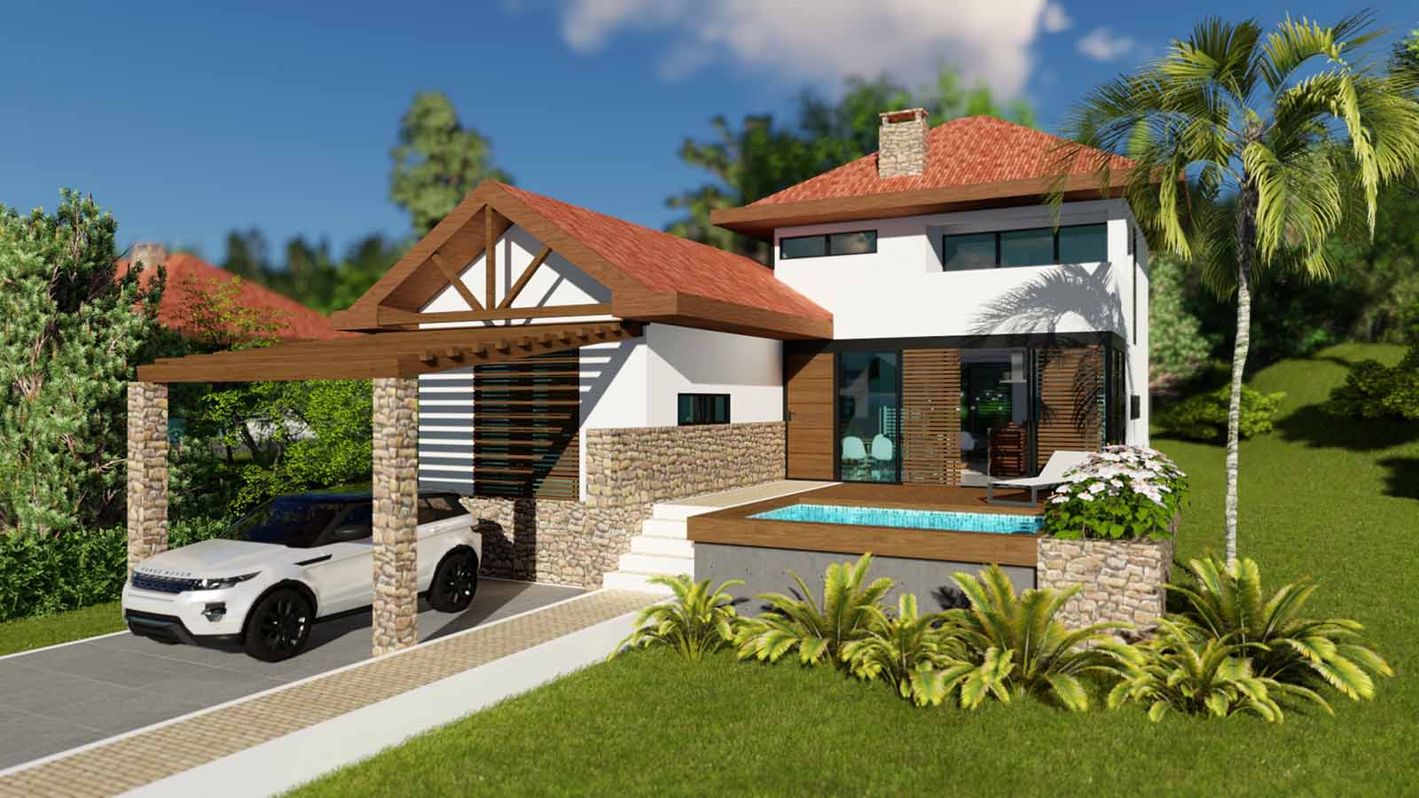 Villa Mountain Blue Tipo 2